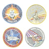 show larger image of product view 5 : Original U.S. NASA Space Shuttle Challenger Disaster and Columbia Mission Patches - Set of 28 Original Items