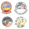 show larger image of product view 3 : Original U.S. NASA Space Shuttle Challenger Disaster and Columbia Mission Patches - Set of 28 Original Items