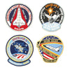 show larger image of product view 6 : Original U.S. NASA Space Shuttle Challenger Disaster and Columbia Mission Patches - Set of 28 Original Items