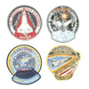 show larger image of product view 7 : Original U.S. NASA Space Shuttle Challenger Disaster and Columbia Mission Patches - Set of 28 Original Items