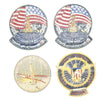 show larger image of product view 9 : Original U.S. NASA Space Shuttle Challenger Disaster and Columbia Mission Patches - Set of 28 Original Items
