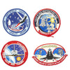 show larger image of product view 10 : Original U.S. NASA Space Shuttle Challenger Disaster and Columbia Mission Patches - Set of 28 Original Items