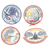 show larger image of product view 11 : Original U.S. NASA Space Shuttle Challenger Disaster and Columbia Mission Patches - Set of 28 Original Items