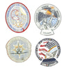 show larger image of product view 13 : Original U.S. NASA Space Shuttle Challenger Disaster and Columbia Mission Patches - Set of 28 Original Items