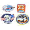 show larger image of product view 14 : Original U.S. NASA Space Shuttle Challenger Disaster and Columbia Mission Patches - Set of 28 Original Items