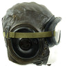 show larger image of product view 9 : Original U.S. WWII Army Air Forces Aviator A-11 Flight Helmet with K-14 Earphones and M-1944 Goggles in Case