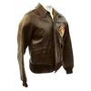show larger image of product view 3 : Original U.S. WWII Army Air Force 386th Bomb Squadron A-2 Flight Jacket Original Items