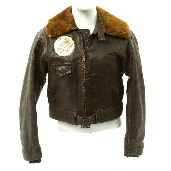 Original U.S. WWII VC-80 Navy Composite Squadron M456A Colvinex Converted Flight Jacket