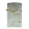 show larger image of product view 6 : Original U.S. Vietnam War Zenith Lighter Engraved with Map of Vietnam and Inscription - Dated 1967 - 1968 Original Items