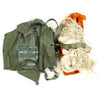 show larger image of product view 4 : Original U.S. Cold War Parachute Set - Canopy, Harness, Suits, Parts and More Original Items