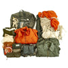 show larger image of product view 1 : Original U.S. Cold War Parachute Set - Canopy, Harness, Suits, Parts and More Original Items