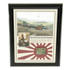 show larger image of product view 1 : Original Japanese WWII Mitsubishi G4M Betty Hull Fragment from U.S. Operation Vengeance - Admiral Yamamoto Original Items