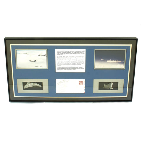 Original U.S. Crash Fragments from F-104 Starfighter & North American XB-70 Valkyrie Collision - June 8 1966 Original Items