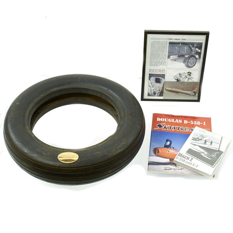Original U.S. Post WWII Douglas D-558-1 Skystreak Front Landing Gear Tire Original Items