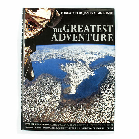 Original U.S. The Greatest Adventure Limited Edition 730 of 2000 Signed by 6 Astronauts Original Items