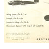show larger image of product view 14 : Original U.S. WWII Set of 3 USAAF Aircraft Identification Posters: German Heinkel 111 + British Stirling & Halifax Original Items