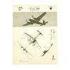show larger image of product view 8 : Original U.S. WWII Naval Aviation Training WEFTUP ID Posters - Set of Four - German, Japananse, U.S. and British Aircraft Original Items
