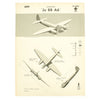 show larger image of product view 20 : Original U.S. WWII Naval Aviation Training WEFTUP ID Posters - Set of Four - German, Japananse, U.S. and British Aircraft Original Items