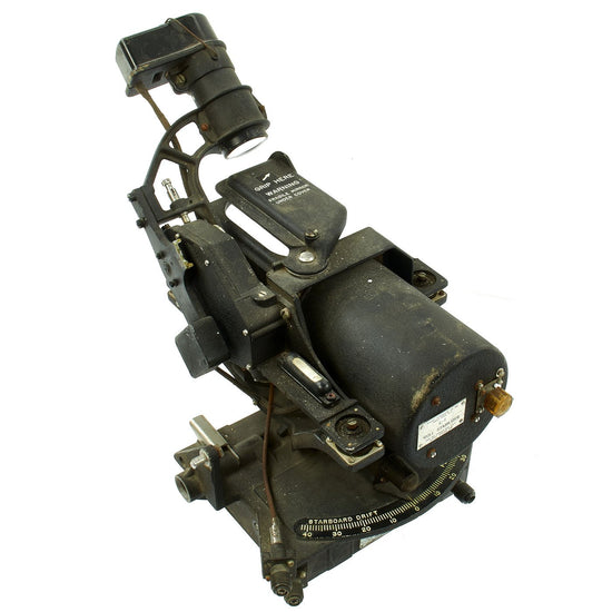 Original U.S. WWII Sperry T-1B Bombsight Head by AC Spark Plug Division of GMC Original Items