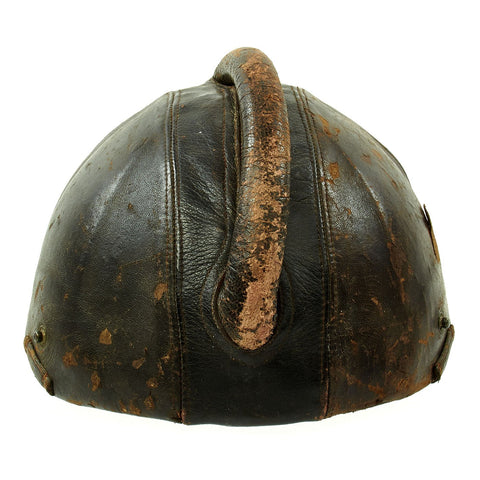 Original German WWII Pilot Flight Protection Helmet SSK 90 by Siemens Original Items