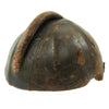 show larger image of product view 2 : Original German WWII Pilot Flight Protection Helmet SSK 90 by Siemens Original Items