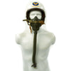show larger image of product view 4 : Original U.S. Korean War Air Force Type P1A Flying Helmet with MS-22001 Oxygen Mask Original Items