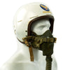 show larger image of product view 3 : Original U.S. Korean War Air Force Type P1A Flying Helmet with MS-22001 Oxygen Mask Original Items