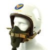 show larger image of product view 2 : Original U.S. Korean War Air Force Type P1A Flying Helmet with MS-22001 Oxygen Mask Original Items