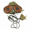 show larger image of product view 8 : Original British Royal Air Force 22C Flying Helmet with Mk VIII Goggles and Oxygen Mask Original Items