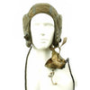 show larger image of product view 2 : Original British Royal Air Force 22C Flying Helmet with Mk VIII Goggles and Oxygen Mask Original Items
