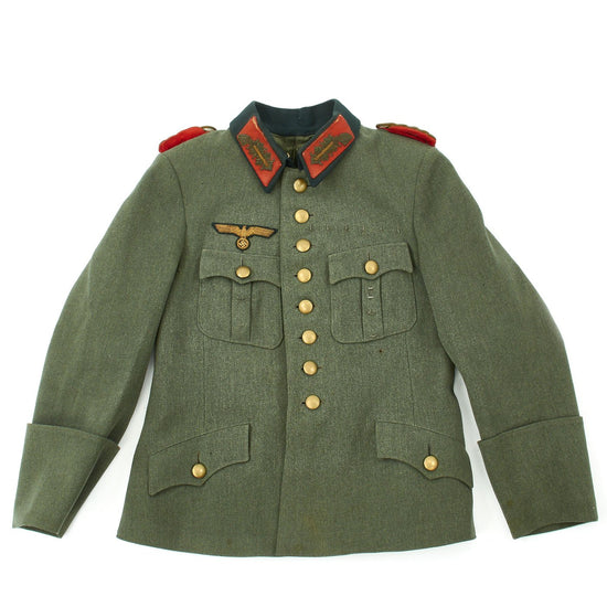 Original German WWII Army Heer Major General Tunic Dienstbluse