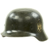 show larger image of product view 7 : Original German WWII Heer Army M35 Helmet from MGM Studios used in Garrison's Gorillas - E.T.64 Original Items