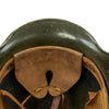 show larger image of product view 12 : Original German WWII Heer Army M35 Helmet from MGM Studios used in Garrison's Gorillas - E.T.64 Original Items