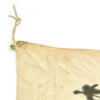 "show larger image of product view 6 : Original Japanese WWII Hand Painted Cloth Good Luck Flag - 30"" x 34"" Original Items"