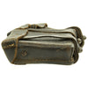 show larger image of product view 5 : Original German WWII Naval Black Leather Mauser 98k Triple Pouch with Kriegsmarine Marking - dated 1942 Original Items