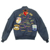 show larger image of product view 18 : Original U.S. Cold War Naval Carrier Airborne Early Warning Squadron 113 VAW-113 MA1 Flight Jacket Original Items