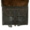 show larger image of product view 7 : Original U.S. Civil War Federal Model 1864 Cartridge Box with Strap Original Items