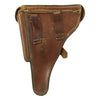 show larger image of product view 2 : Original German WWI P08 Luger Brown Leather Holster by Schulz & Co. with Bavarian Marking - dated 1918 Original Items
