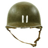 show larger image of product view 2 : Original U.S. WWII 1942 M1 McCord Fixed Bale Front Seam Helmet with Rare Hawley Paper Liner Original Items