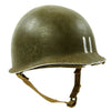 show larger image of product view 1 : Original U.S. WWII 1942 M1 McCord Fixed Bale Front Seam Helmet with Rare Hawley Paper Liner Original Items