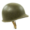 show larger image of product view 4 : Original U.S. WWII 1942 M1 McCord Fixed Bale Front Seam Helmet with Rare Hawley Paper Liner Original Items