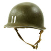 show larger image of product view 5 : Original U.S. WWII 1942 M1 McCord Fixed Bale Front Seam Helmet with Rare Hawley Paper Liner Original Items