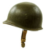 show larger image of product view 6 : Original U.S. WWII 1942 M1 McCord Fixed Bale Front Seam Helmet with Rare Hawley Paper Liner Original Items