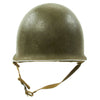 show larger image of product view 7 : Original U.S. WWII 1942 M1 McCord Fixed Bale Front Seam Helmet with Rare Hawley Paper Liner Original Items