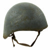show larger image of product view 3 : Original U.S. WWII Navy USN MK2 Talker Flak Gunner Helmet with Chinstrap Original Items