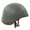 show larger image of product view 1 : Original U.S. WWII Navy USN MK2 Talker Flak Gunner Helmet with Chinstrap Original Items