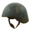show larger image of product view 4 : Original U.S. WWII Navy USN MK2 Talker Flak Gunner Helmet with Chinstrap Original Items