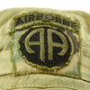show larger image of product view 8 : Original U.S. Vietnam War Locally Made Boonie Tropical Hat with 82nd Airborne Insignia Original Items