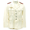 show larger image of product view 1 : Original German WWII Artillery Officer Lieutenant White Summer Uniform Tunic Jacket Original Items