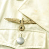 show larger image of product view 4 : Original German WWII Artillery Officer Lieutenant White Summer Uniform Tunic Jacket Original Items
